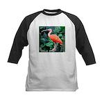 Stunning Scarlet Ibis Kids Baseball Jersey