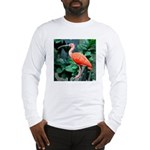 Stunning Scarlet Ibis Long Sleeve T-Shirt