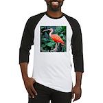 Stunning Scarlet Ibis Baseball Jersey