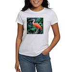 Stunning Scarlet Ibis Women's T-Shirt