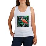Stunning Scarlet Ibis Women's Tank Top