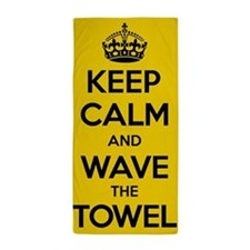 Keep Calm Terrible Beach Towel
