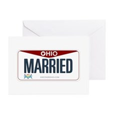 Ohio Marriage Equality Greeting Cards (Pk of 10)