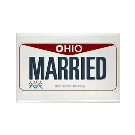 Ohio Marriage Equality Rectangle Magnet (100 pack)