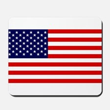 US Flag Gifts Mousepad