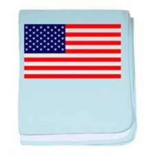US Flag Gifts baby blanket