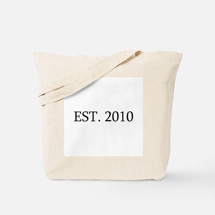 Est 2010 Tote Bag