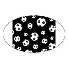 Soccer ball Pattern Decal