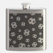 Soccer ball Pattern Flask