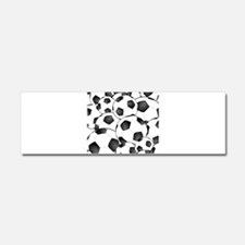 Soccer ball Pattern Car Magnet 10 x 3