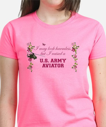 I Raised An Army Aviator T-Shirt