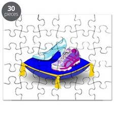 Princess Running Shoes Puzzle