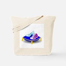 Princess Running Shoes Tote Bag