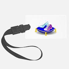 Princess Running Shoes Luggage Tag