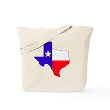 Texas Flag State Tote Bag