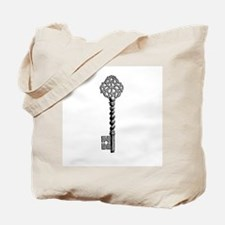 Vintage Key Tote Bag