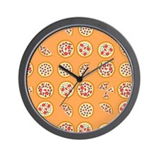 Pizza For All Wall Clock