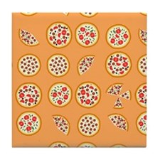 Pizza For All Tile Coaster