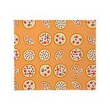 Pizza blanket Fleece Blankets