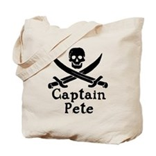 Captain Pete Tote Bag