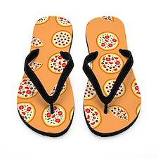 Pizza For All Flip Flops