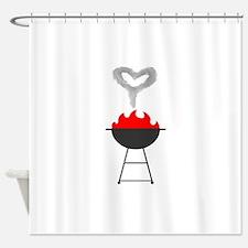 Hot love Shower Curtain