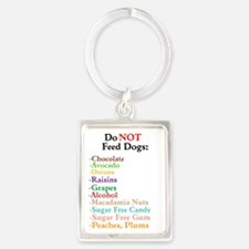 """Do Not Feed Dogs"" Lifesaving Keychain K"