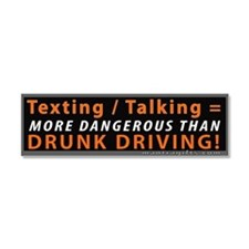 Unique Text message Car Magnet 10 x 3