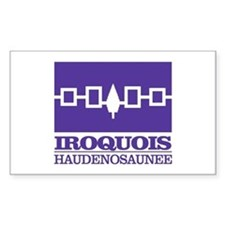 Iroquois Flag Bumper Stickers