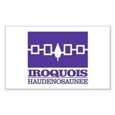 Iroquois Flag Decal