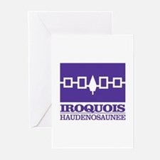 Iroquois Flag Greeting Cards