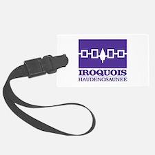 Iroquois Flag Luggage Tag