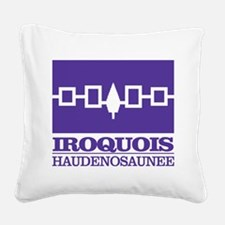 Iroquois Flag Square Canvas Pillow