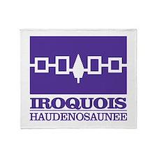 Iroquois Flag Throw Blanket