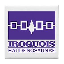 Iroquois Flag Tile Coaster