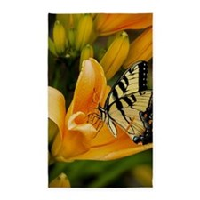 Swallowtail Butterfly 3'x5' Area Rug