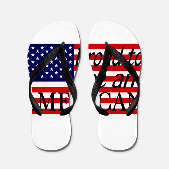 Proud to be an American Gifts Flip Flops