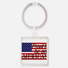 Proud to be an American Gifts Keychains