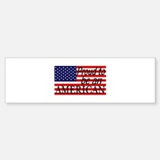 Proud to be an American Gifts Bumper Bumper Bumper Sticker