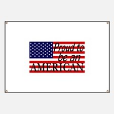 Proud to be an American Gifts Banner