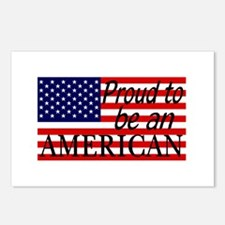 Proud to be an American Gifts Postcards (Package o