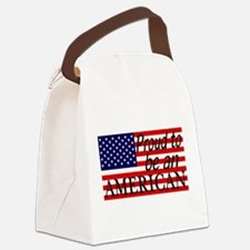 Proud to be an American Gifts Canvas Lunch Bag