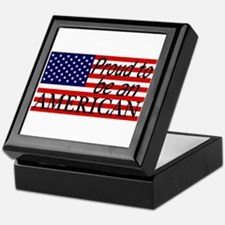 Proud to be an American Gifts Keepsake Box