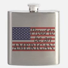 Proud to be an American Gifts Flask