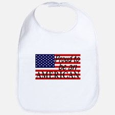 Proud to be an American Gifts Bib