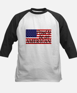 Proud to be an American Gifts Baseball Jersey