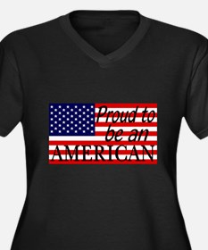 Proud to be an American Gifts Plus Size T-Shirt