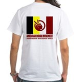 American indian Mens White T-shirts
