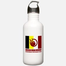 American Indian Movement Water Bottle