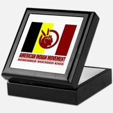 American Indian Movement Keepsake Box